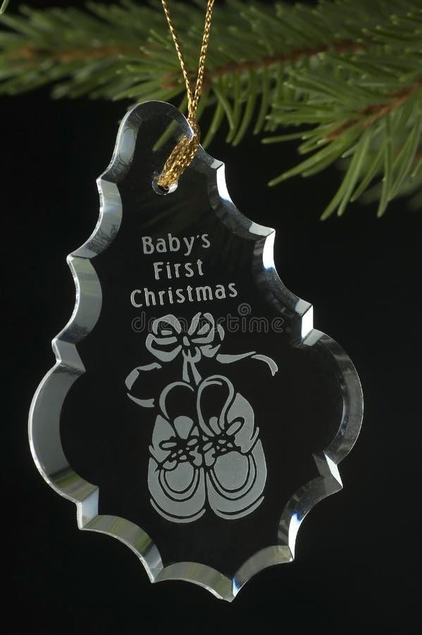 рождество первый s младенца стоковые фото