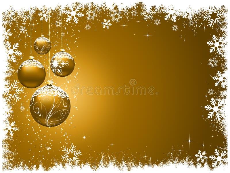 рождество предпосылки декоративное иллюстрация вектора