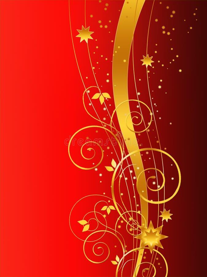 Download рождество предпосылки золотистое Иллюстрация штока - иллюстрации насчитывающей backhoe, художничества: 6860478