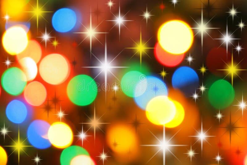 рождество предпосылки цветастое стоковое изображение