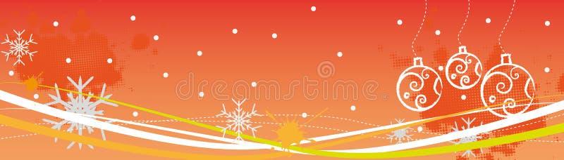 рождество предпосылок иллюстрация вектора