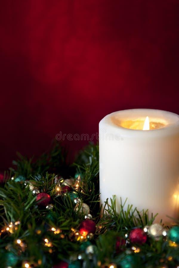 рождество свечки стоковое фото