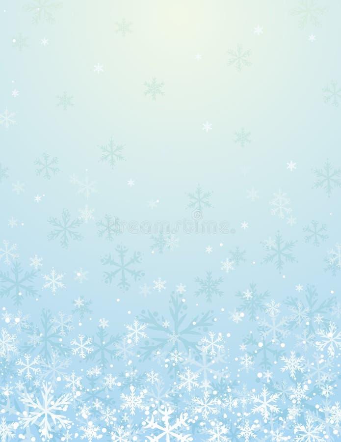 рождество сини предпосылки иллюстрация вектора