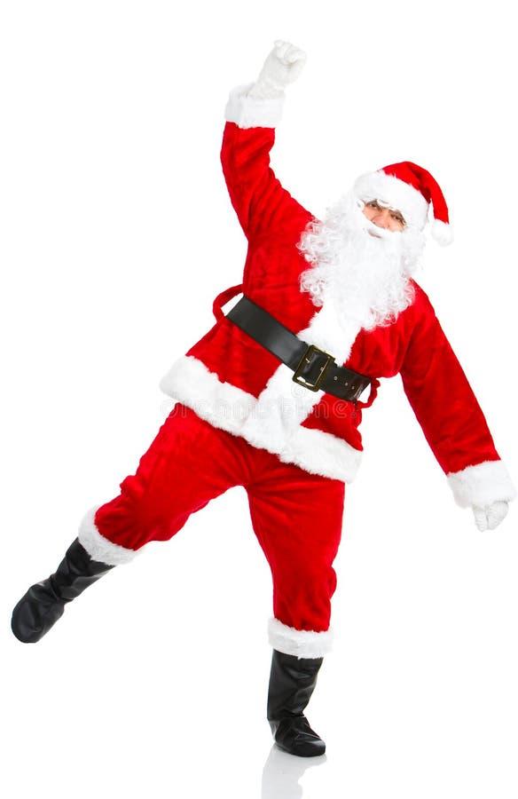 рождество счастливый santa стоковые изображения rf