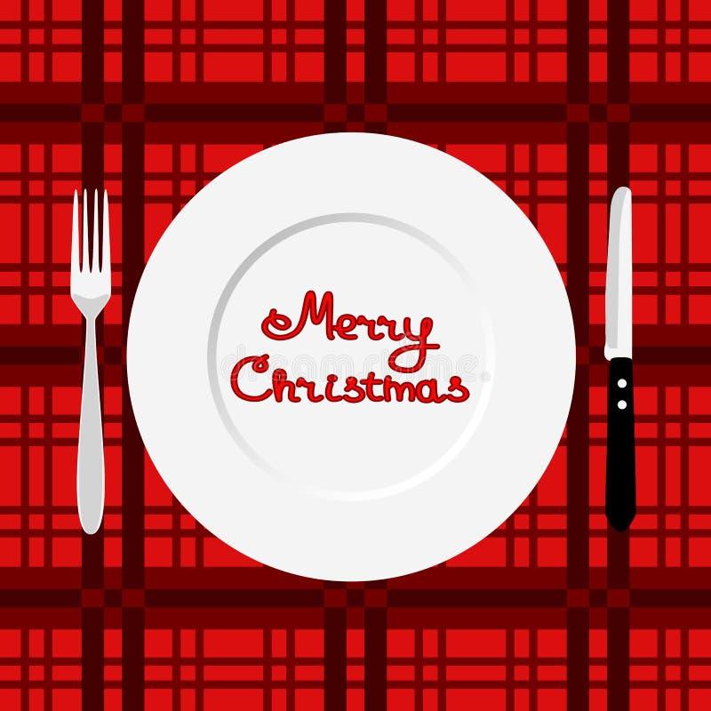 рождество украшает идеи обеда свежие домашние к вектор времени JPEG иллюстрации eps обеда бесплатная иллюстрация