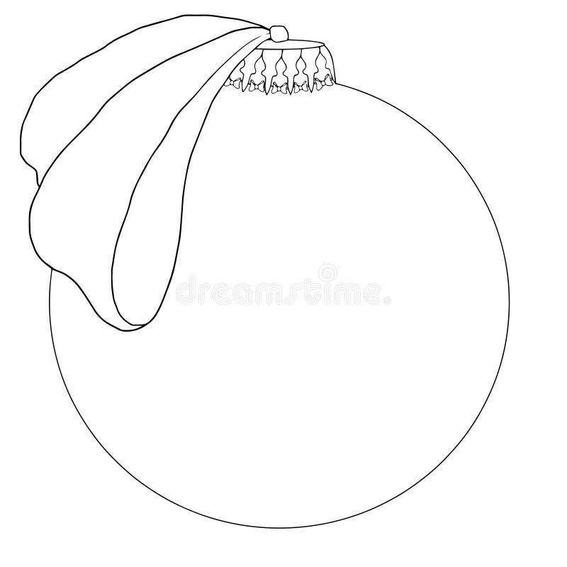 рождество украшает идеи украшения свежие домашние к Игрушка рождественской елки иллюстрация вектора