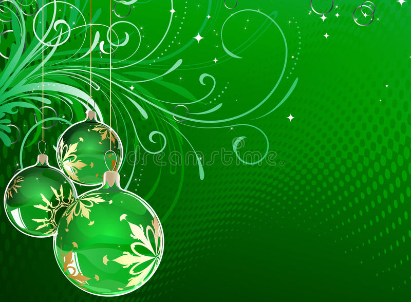 рождество шариков иллюстрация вектора