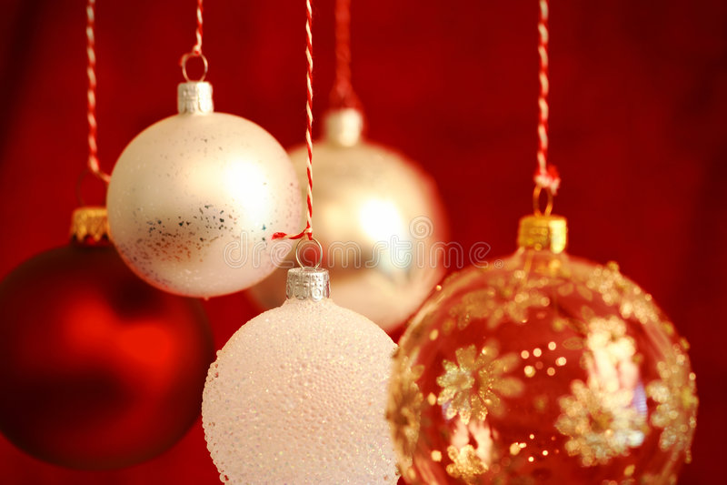рождество шариков стоковая фотография