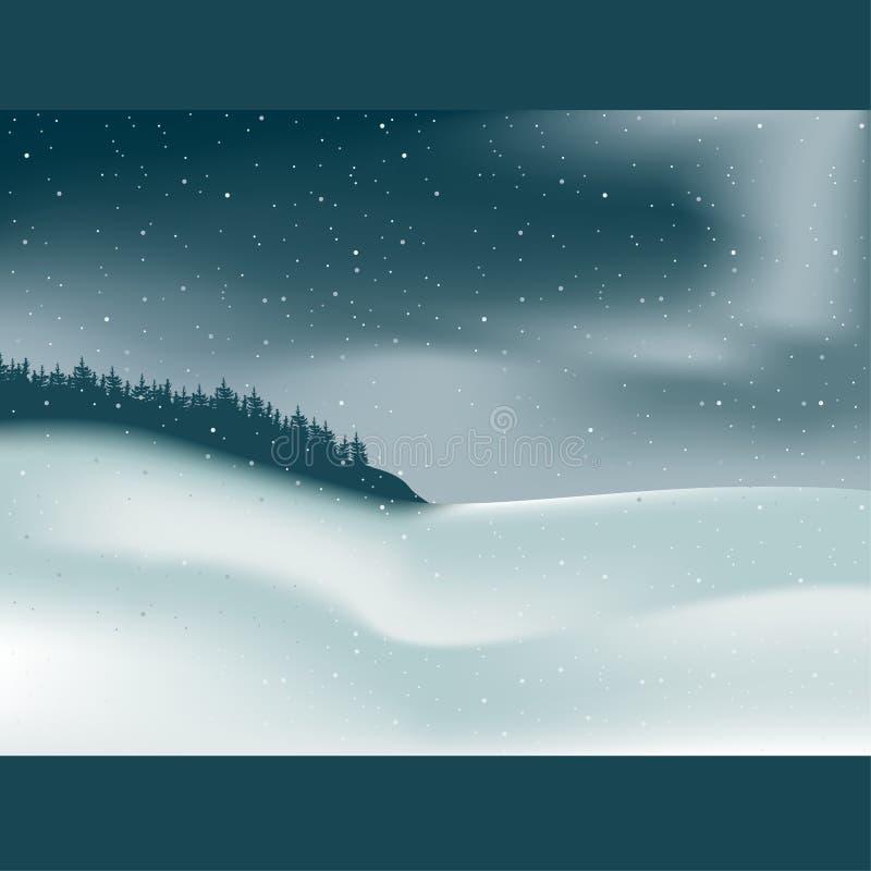 рождество 02 предпосылок иллюстрация вектора