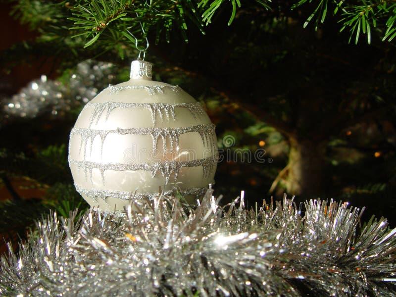 рождество 2 шариков стоковая фотография rf