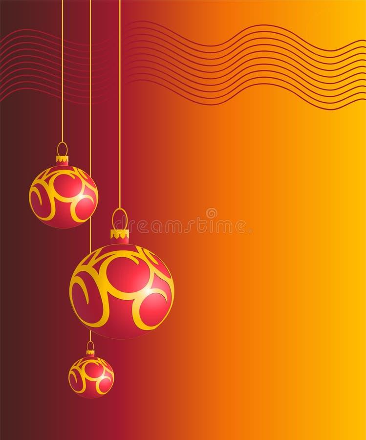 рождество 3 шарика бесплатная иллюстрация