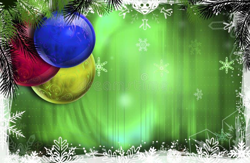 рождество baubles стоковое изображение rf