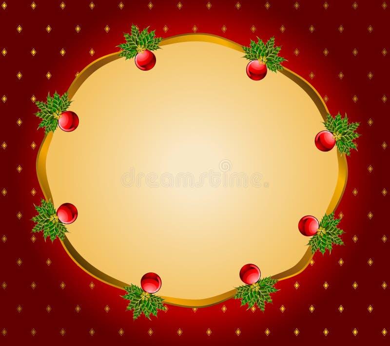 Download рождество Bolls предпосылки Иллюстрация вектора - иллюстрации насчитывающей украшение, сезон: 17619949
