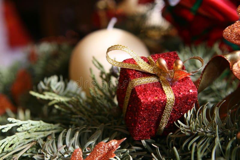 рождество chaplet стоковое изображение rf