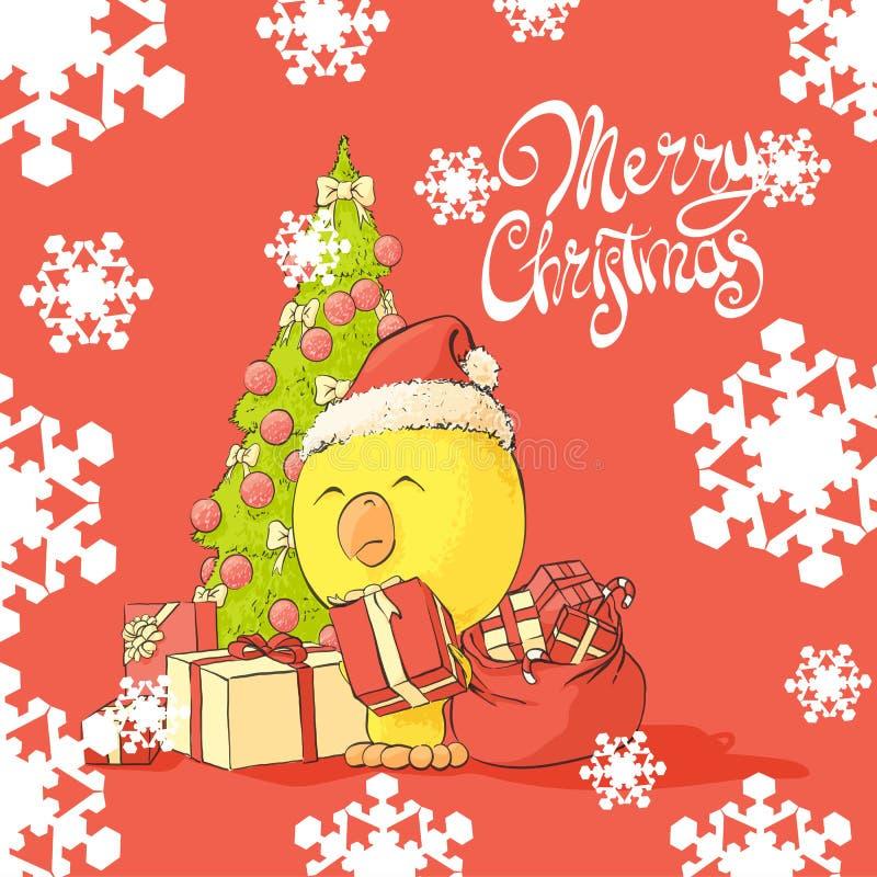 рождество claus santa иллюстрация штока