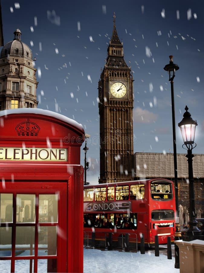 рождество london стоковые изображения