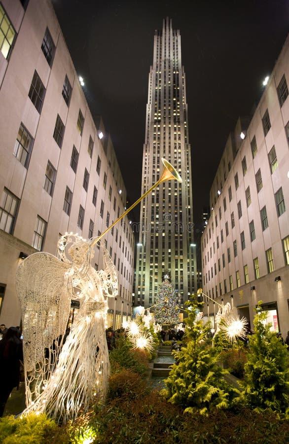 рождество New York стоковая фотография