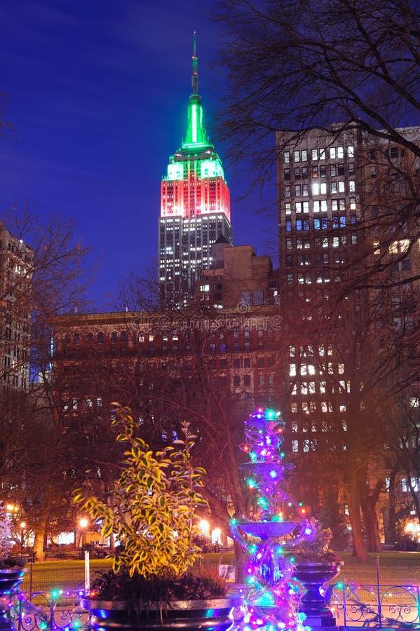 Рождество New York City стоковая фотография rf