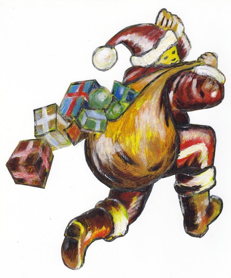 рождество santa стоковая фотография rf