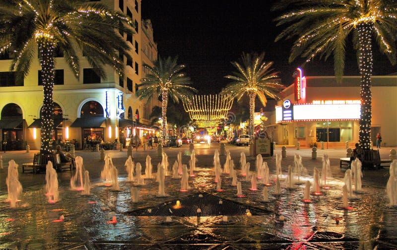 Рождество West Palm Beach стоковое изображение rf