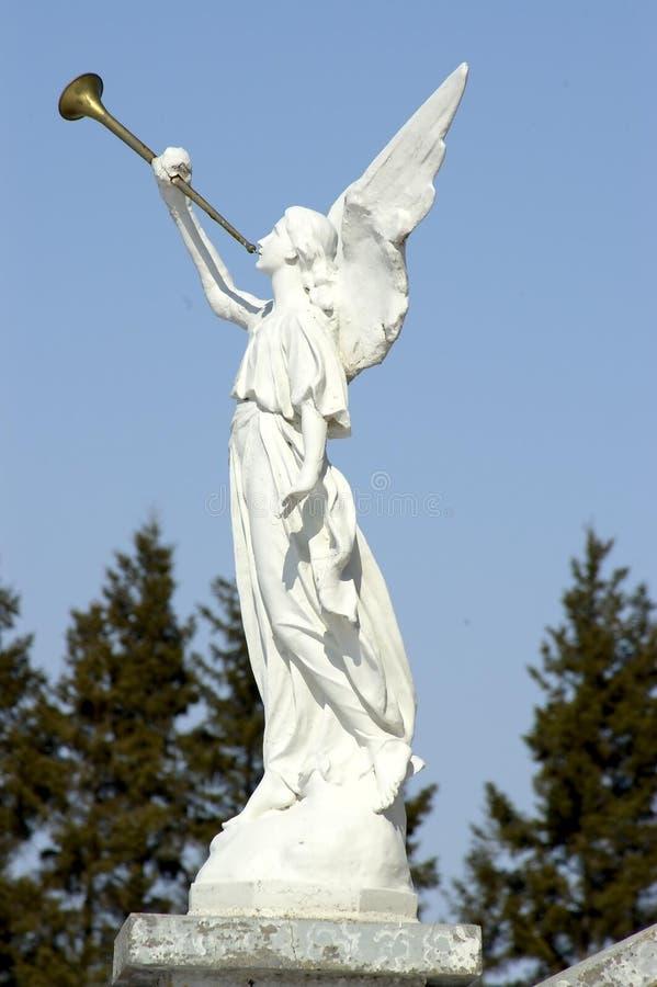 рожочок ангела Стоковая Фотография RF