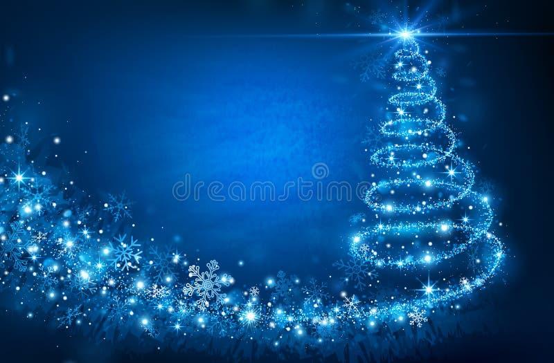 Download Рождественская елка иллюстрация вектора. иллюстрации насчитывающей bluets - 34578843