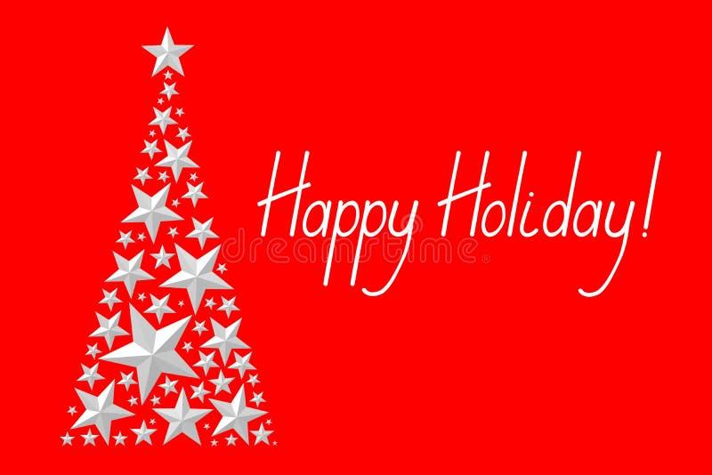 Download Рождественская открытка - счастливый праздник Иллюстрация штока - иллюстрации насчитывающей геометрическо, приветствия: 81800539