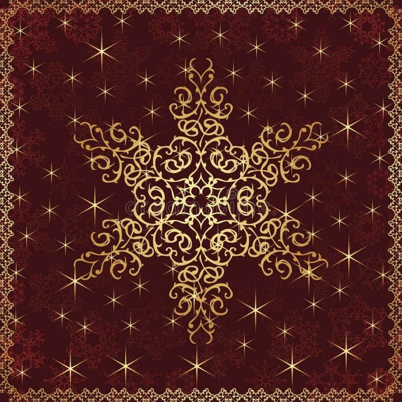 Download Рождественская открытка иллюстрация вектора. иллюстрации насчитывающей декоративно - 33735737