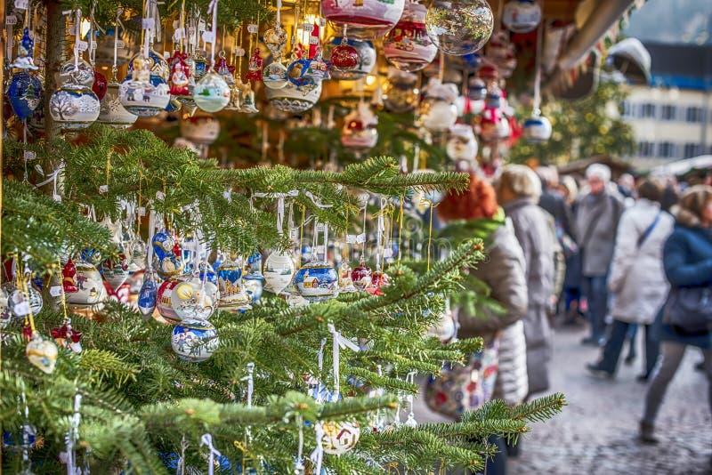 Рождественская ярмарка в Италии стоковое изображение