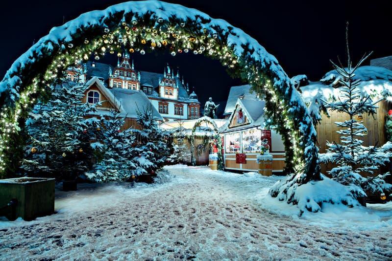 Рождественская ярмарка стоковое фото