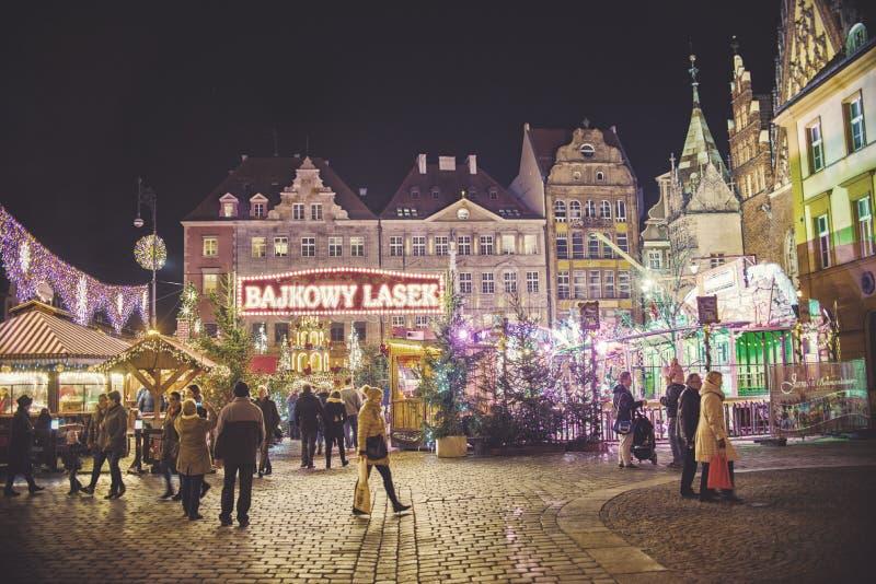 Рождественская ярмарка стоковые изображения