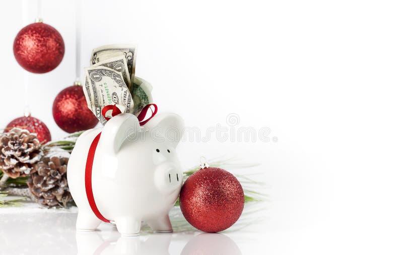 рождество банка piggy стоковые фото