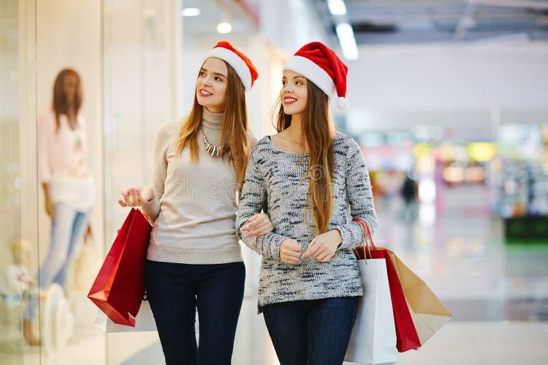 Рождество в торговом центре стоковые изображения