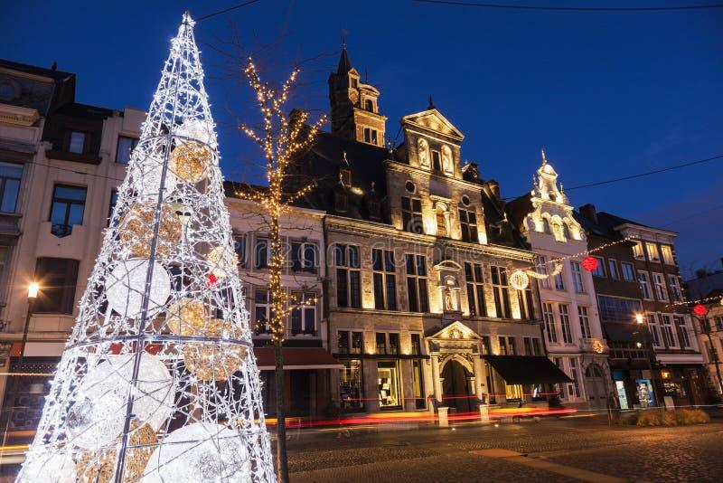 Рождество в Mechelen стоковое изображение rf