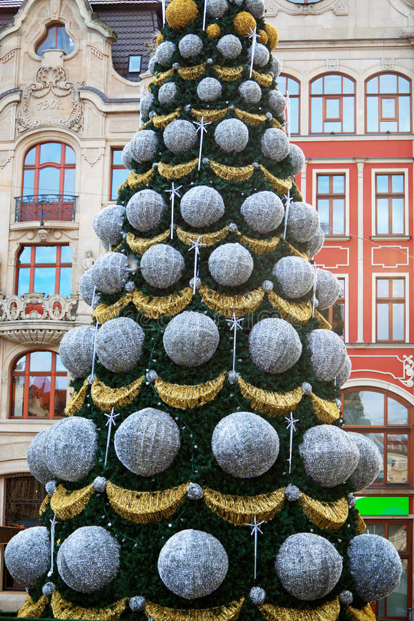 Рождество в Wroclaw, Польше стоковая фотография