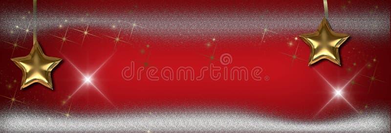 Рождество играет главные роли знамя, предпосылка стоковые фотографии rf