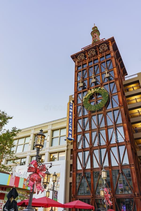 Download Рождество на торговом центре, Galleria Glendale Редакционное Изображение - изображение насчитывающей galleria, отавы: 81813635