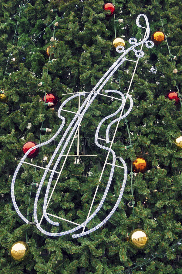 рождество предпосылки украсило вал стоковое изображение rf