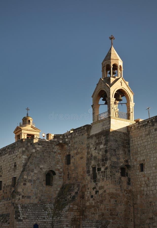 рождество церков Вифлеема Палестинские автономии Израиль стоковое фото