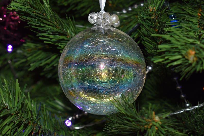 рождество bauble предпосылки 3d составило фотографическое реальное представляет стоковая фотография