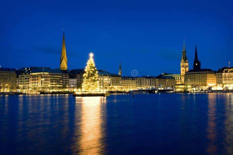 Рождество ind Гамбург стоковое фото