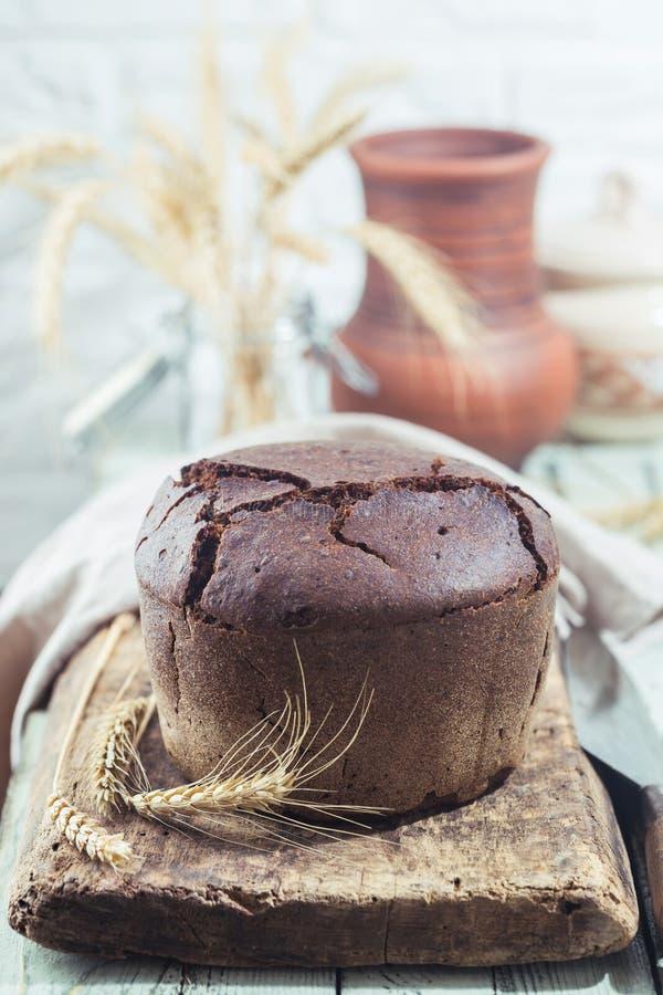 рож хлеба круглая стоковые фотографии rf