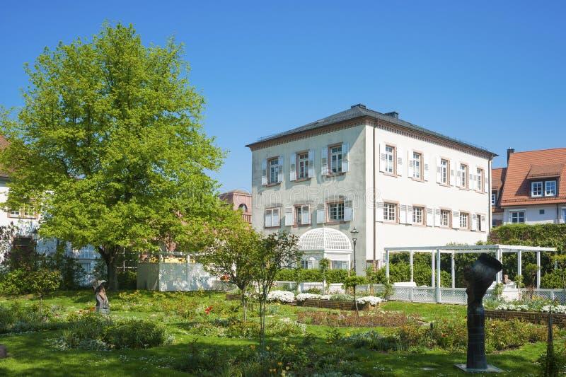 Розарий в Ettlingen стоковое фото