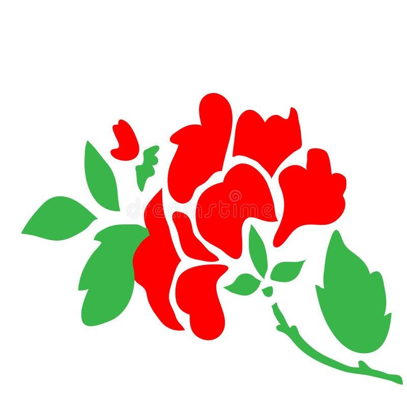 роза пинка цветка одичалая бесплатная иллюстрация