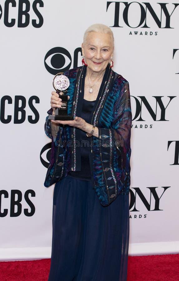 Розмари Херрис наградило особенную почетность на 2019 премиях Тони стоковые фото