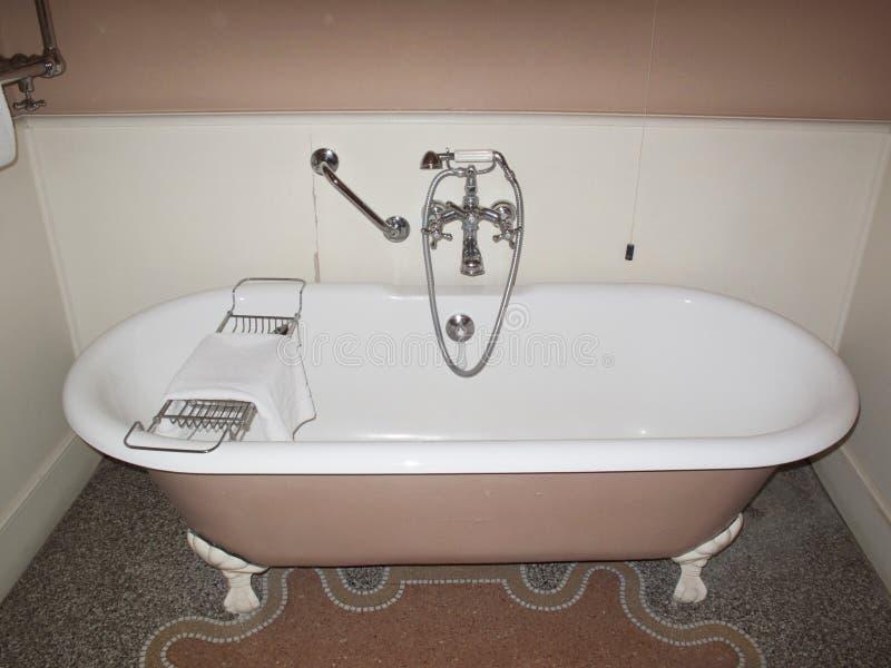Розовая ванна стоковые фото