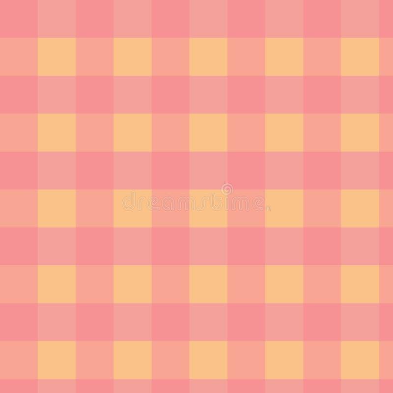 Розовая и оранжевая предпосылка ребёнка, милая непрерывная картина холстинки бесплатная иллюстрация