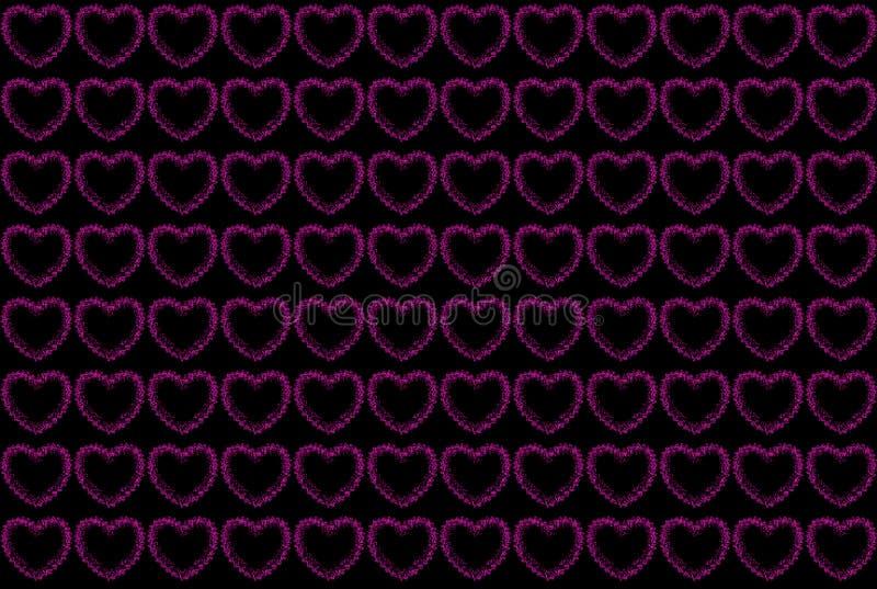 Download Розовая картина сердец иллюстрация штока. иллюстрации насчитывающей backhoe - 33726608