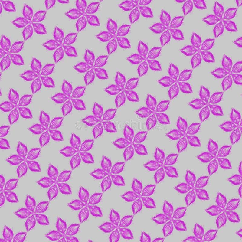 Розовая картина цветков стоковая фотография rf
