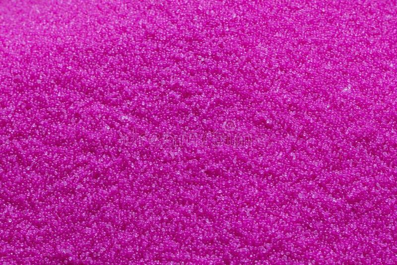 Розовая лепешка сырцового пластикового материала стоковое фото